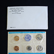 1968 Uncirculated US Coin Set
