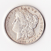 1903 Morgan US Silver Dollar