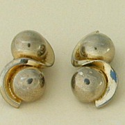 Marvella Goldtone Ball Earrings