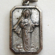 Medugorje Silver-Tone Pendant