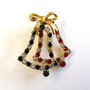 SALE Christmas Bells Pin