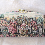 SALE Baronet Tapestry Clutch Wallet and Key Case Set