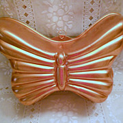Vintage Copper Color Butterfly Mold