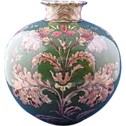 Pair of Royal Bonn Germany Art Nouveau Old Dutch Vases (c.1890-1923)