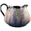 "Limoges Arts & Crafts Grape Motif Pitcher (Signed ""BMP""/Dated 1920)"