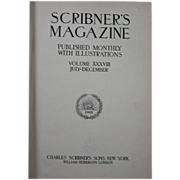 �Scribner�s Magazine Vol. 38 July-Dec. 1905� (Library Bound Volume) � Leyendecker Illustration