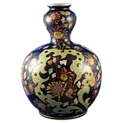 "Royal Bonn Germany ""Old Dutch"" Floral Motif Vase (c.1890-1923)"