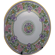 SALE Thomas Bavaria Floral Motif Arts & Crafts Charger (Signed/c.1908-1930)