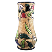 Czechoslovakia Amphora Arts & Crafts Floral Design Vase (c.1918-1939)