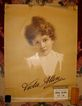 Rare 1890's Viola Allen Theatre Silent Film Star Broadside
