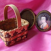 Agnes Welch Cherokee North Carolina Signed Basket
