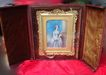 1840's Whole Plate Ivory Portrait in Gorgeous Case