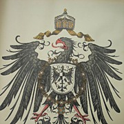 Collection of 19th c. European Coat of Arms Posters
