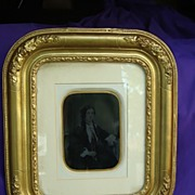 Framed Ambro of Wife Scottish Diplomat William John Napier