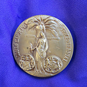 South Carolina Bronze Tricentennial Medal High Relief