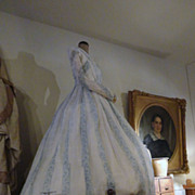1840's Ladies Cotton Southern Plantation Owners Dress