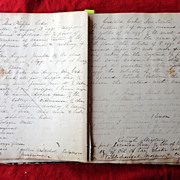 1870's Diary of Miss Alice Pertis 223 E.Price Street Germantown,Pa.