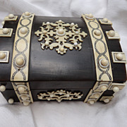 Fabulous Inlaid 19th century Watch Case