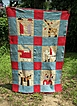 Wonderful Kentucky Child's Quilt Dated & Signed August 10 1928