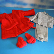 Vintage Sasha Clothes, Robe, Slippers & Pajamas for Gregor