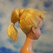 SOLD 1960 Vintage # 4 Barbie Blonde Pony Tail