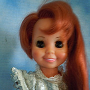 "SOLD Rare! 1970's Ideal 16"" Cricket Grow Hair w/Red Hair Sears Special"