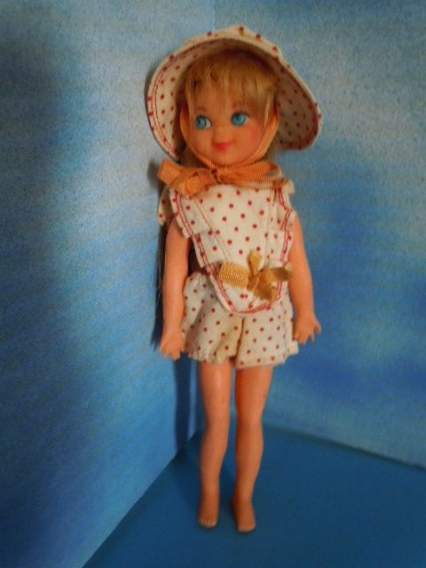 1967 Mattel 6&quot; Tutti of Barbie Family in Original Clothes,