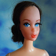 1970 Vintage Mod Talking Barbie Brunette