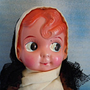"SOLD Vintage 8"" Celluloid Carnival Kewpie w/Japan Label"