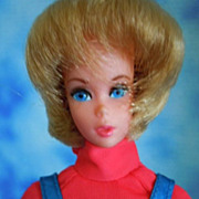 1972 Vintage Talking Busy Barbie, All Original, Talks!