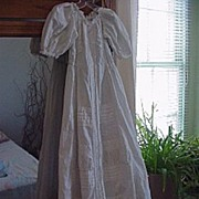 Vintage Cotton Gown for (L) Baby Doll