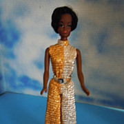 SOLD 1971 Mattel Talking Julia Original Black Vinyl Darker Version