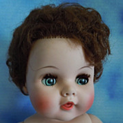 1960 American Character 22&quot; Toodles Vinyl Baby Red Hair