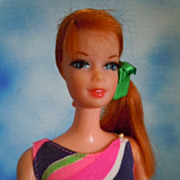 1968 Mattel Talking Stacey Red Hair All Original