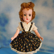 "1950's Mary Hoyer 14"" Hard Plastic Tagged, All Original"