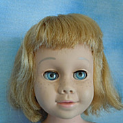 "1960 Mattel 20"" Chatty Cathy Soft Face 1st Issue"