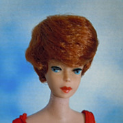 1964 Vintage Barbie Bubble Cut Titian Red Hair