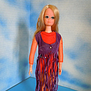 1971 Mattel Live Action PJ All Original Mod Clothes