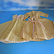 1950's Mary Hoyer Vintage Bathrobe & Nightgown /Penoir Set