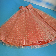 1950's Mary Hoyer Medium Pink Ball Gown, Crispy Mint