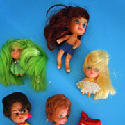 1960's Mattel  Lot of (5) Kiddles