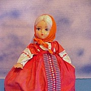 "Vintage 12"" Russian Tea Cozy Girl"