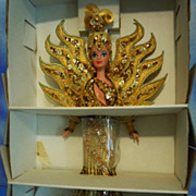 1995 Goddess of the Sun Barbie MIB Designer Bob Mackie