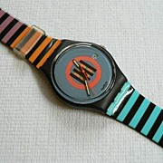 Vintage Swatch Watch Coral Gables GB407