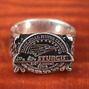 Vintage Sterling Silver Sturgis Ring From 1994 Rally