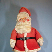 1930's Vintage Cloth Santa Claus