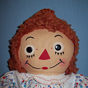 Vintage 1950's Raggedy Ann by Georgene Novelties, Inc.