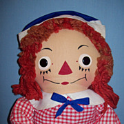 1950's Vintage Raggedy Ann by Georgene Novelties, Inc.