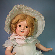 "SALE PENDING Wonderful All Original Composition Shirley Temple ""look-a-like"" Doll"