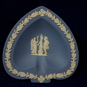 Nice Vintage WEDGEWOOD England Jasper ware Spade Dish